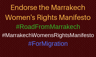 Endorse the Marrakech Women's Rights Manifesto