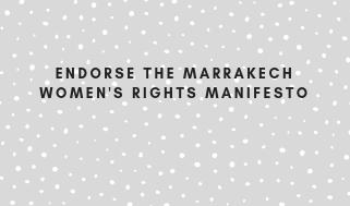 Endorse the Marrakech Women's Rights Manifesto