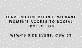 CSW 63 – WIMN's Side Event on 14 March