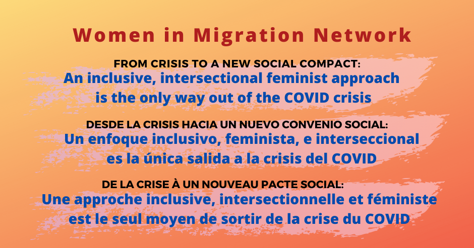 WIMN's Statement on the Covid Crisis (in English, Spanish, French)
